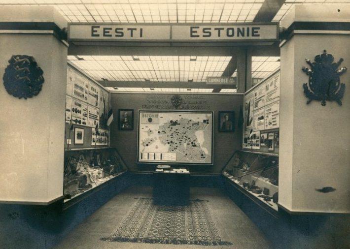 1935 maailmanäituse eesti osakond. Foto: Rahvusarhiiv