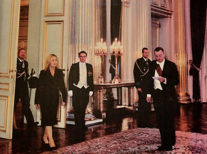Malle Talvet andis oma volikirja belglaste kuningale üle 8. oktoobril 2003. aastal ja jäi ametisse kuni aastani 2008.