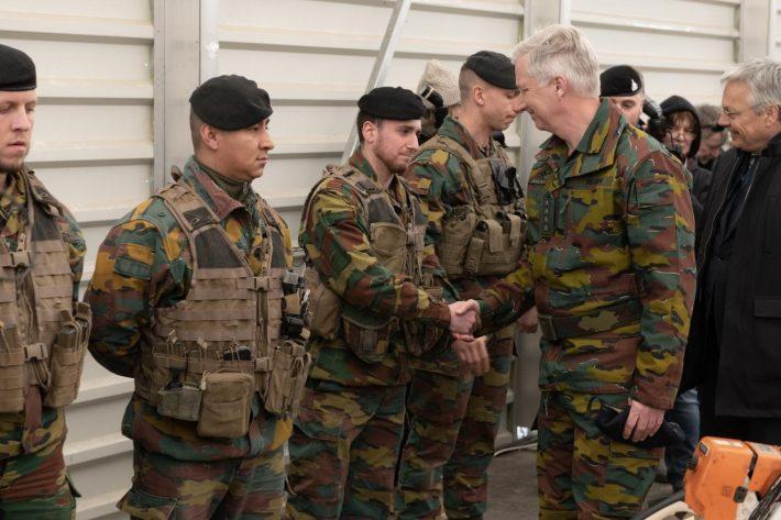 Belglaste kuninga Philippe'i ja välisministri Didier Reyndersi visiit Eestisse, kohtumine Belgia sõduritega Tapal NATO missiooni raames.